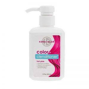 KeraColor Color + Clenditioner Hot Pink 355ml