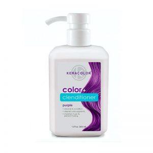 KeraColor Color + Clenditioner Purple 355ml