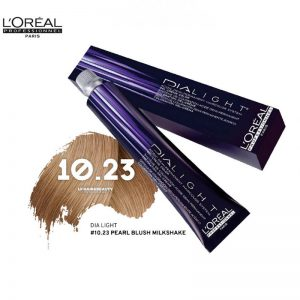 Loreal Dia Light Hair Colourant 10.23 Pearl Blush Milkshake 50ml