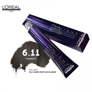 Loreal Dia Light Hair Colourant 6.11 Dark Deep Ash Blonde 50ml