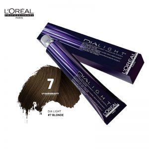 Loreal Dia Light Hair Colourant 7 Blonde 50ml