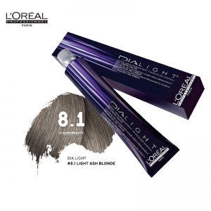 Loreal Dia Light Hair Colourant 8.1 Light Ash Blonde 50ml