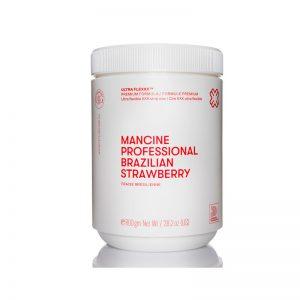 Mancine Strip Wax - Brazilian Strawberry 800g