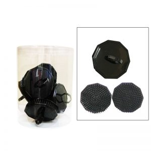 PureOx Scalp Brush 12 pcs Black