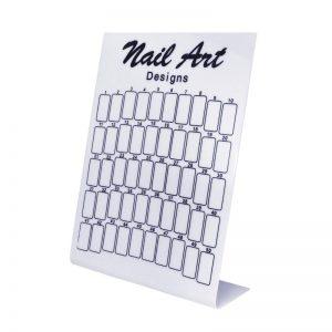 50 Spots Nail Art Designs Display Board