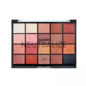 Australis Neutralize Nude Eyeshadow Palette 20g