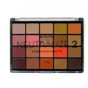Australis Neutralize 2 Eyeshadow Palette 22.5 g