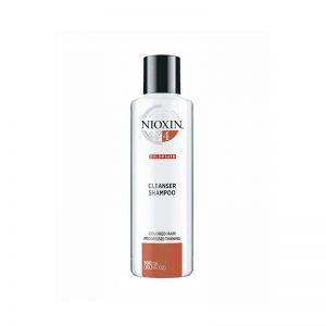 Nioxin 4 Cleanser Shampoo Step 1 Color Safe 300ml