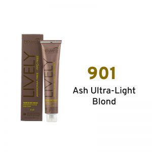 Nouvelle Lively Ammonia Free Hair Color Ash Ultra-Light Blonde 901