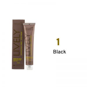 Nouvelle Lively Ammonia Free Hair Color Black 1