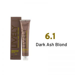 Nouvelle Lively Ammonia Free Hair Color Dark Ash Blond 6.1