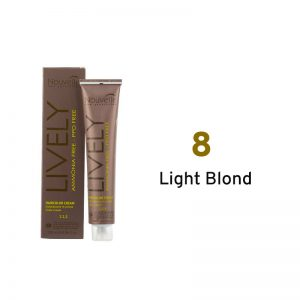 Nouvelle Lively Ammonia Free Hair Color Light Blond 8
