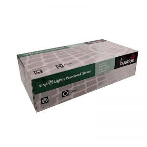 Bastion Vinyl Powder Free - Non Sterile - Disposable - 100 Gloves X-Large