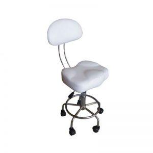 Pricilla Master Chair WHITE SHORT GASS (CH-849A)
