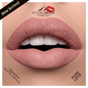MODELROCK Cosmetics - Liquid Last Matte Lipstick - Pure Love