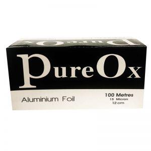 PureOx Silver Aluminium iFoil 100 meters x 12cm