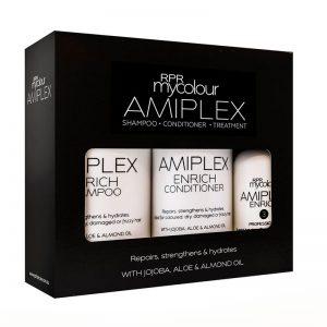 RPR MyColor Amiplex Enrich Shampoo & Conditioner & Treatment Kit