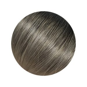 Seamless1 Salt n Pepper Balayage Colour Ponytail Human Hair 20 inch