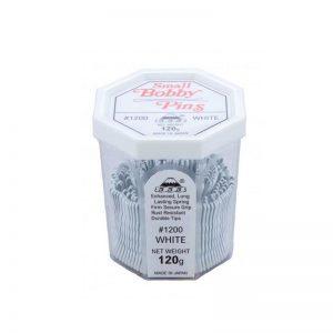 555 - Bobby Pins Small White 120g