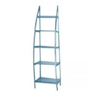 5 tier stainless steel Salon Shelves - CH-5023