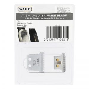 Wahl T-Shaped Trimmer Blade - 2 Hole Blade fits Detailer