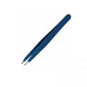 Artist's Choice Tweezer Slant Tip Blue - AC:TW6