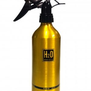 H2O Spray water Bottle 500ml gold
