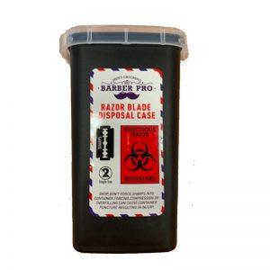 Barber Pro - Razor Blade Disposal Case