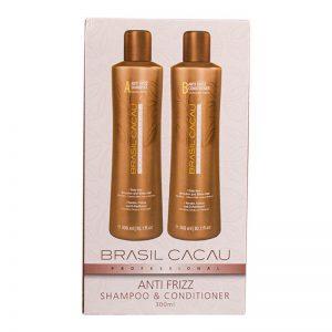 Brasil Cacau Duo Pack Anti Frizz Shampoo & Conditioner 300ml