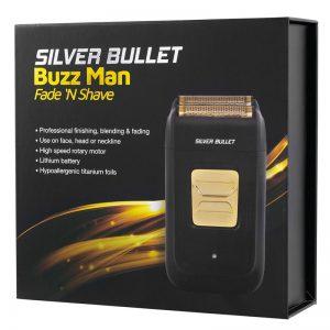 Silver Bullet Buzz Man Fade Shave Gold Foil Shaver