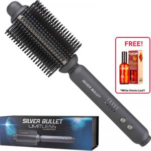 Silver Bullet Limitless Volumizing Hot Brush **Free Argan Oil 100ml**