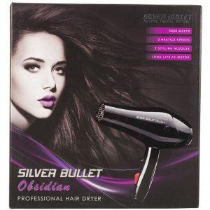Silver Bullet Obsidian Professional Hair Dryer 2000W