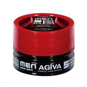*Buy 6 get 6 Free *Agiva Wax & Wax 05 Power Gum Wax Technology Keratin 175ml