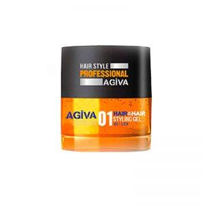 *Buy 6 get 6 Free *Agiva Hair & Hair #01 Styling Gel Wet Look 200 ml