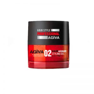 *Buy 6 get 6 Free *Agiva Hair & Hair #02 Styling Gel Ultra Strong 200ml