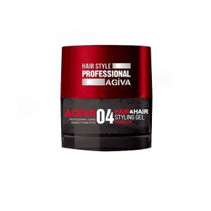 *Buy 6 get 6 Free *Agiva Hair & Hair #04 Styling Gel Ultra Strong 200ml
