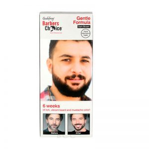 Godefroy Barbers Choice Beard and Mustache Color Dark Brown