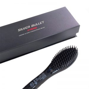 SILVER BULLET HYBRID - Ceramic and Ionic Straightening Brush