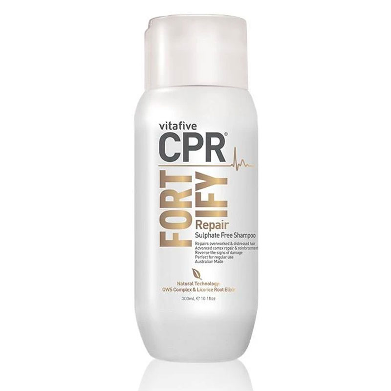 Vitafive CPR Fortify Solution Trio Pack - Restore damaged hair