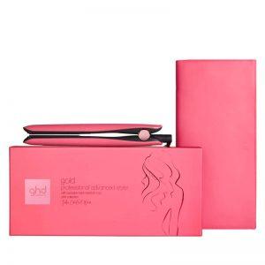 GHD pink - platinum+ hair straightener